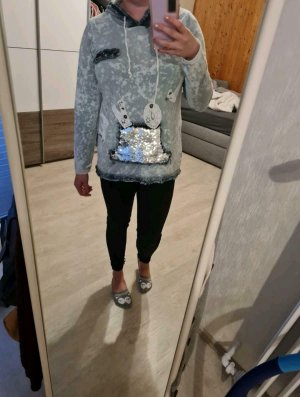 Tredy Hooded Sweater white-azure