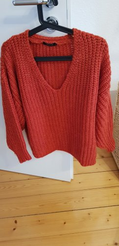 TRENDYOL Pullover a maglia grossa arancione scuro