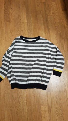 very simple Oversized Sweater multicolored