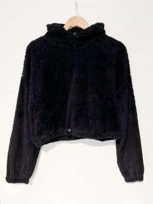 Voyelles Sudadera con capucha negro Poliéster