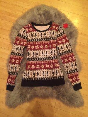 Zara Polarowy sweter Wielokolorowy
