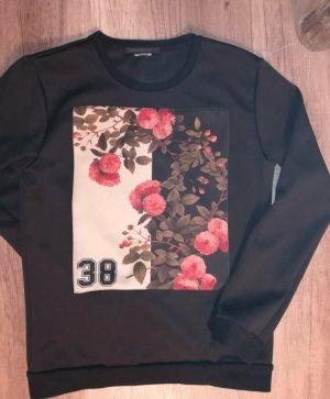 Daniele Alessandrini Crewneck Sweater black polyester
