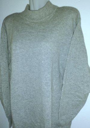 C&A Wollen trui grijs-lichtgrijs Wol