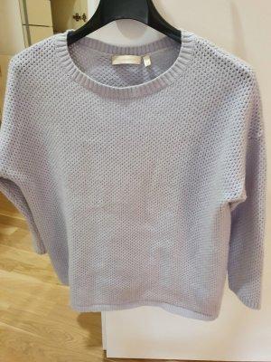 (The Mercer) NY Pull en laine bleu azur