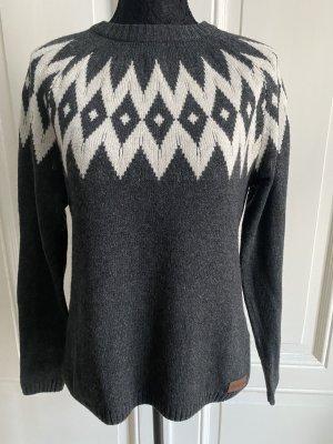 Pullover Wolle Viskose Sherpa M