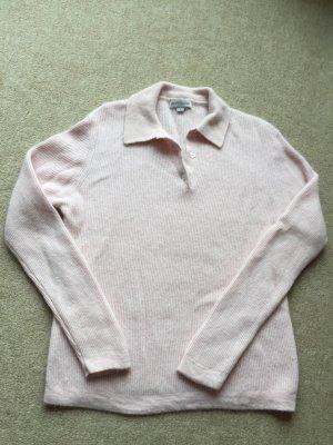 Pullover (Wollmix) mit Knopfleiste , Gr.S