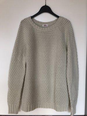 Pullover wollweiß Größe XL fällt aus wie M