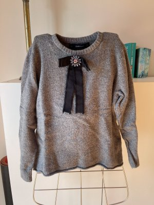 Pullover, Zara mit Appliktion