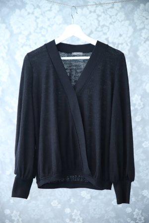 Pullover Zara, schwarz mit Bündchen