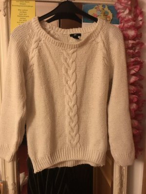 Pullover Zopfmuster