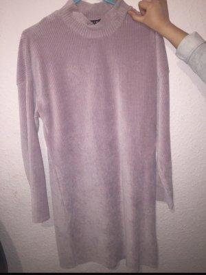 Amisu Sweater Dress dusky pink-pink