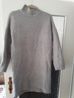Amisu Sweater Dress grey mixture fibre