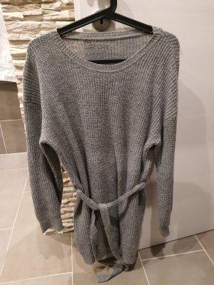 -8- Venice Sweaterjurk lichtgrijs