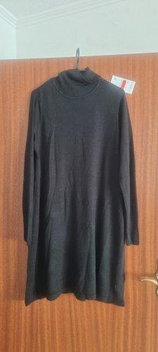 C&A Basics Swetrowa sukienka czarny Poliakryl