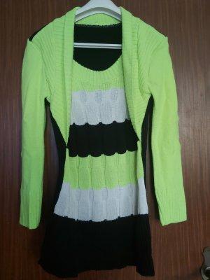 Robe pull multicolore coton