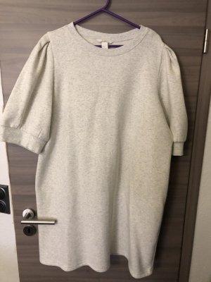 HM Robe pull blanc cassé-crème