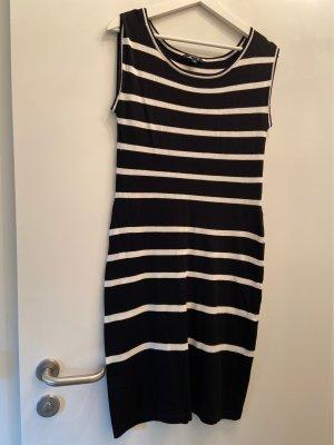 Comma Sweater Dress black-white