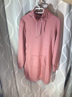 UP Fashion Vestido tipo jersey color rosa dorado