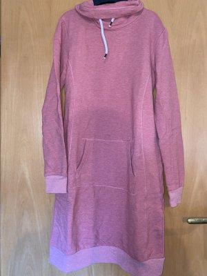 Blue Motion Sweaterjurk roze-mauve