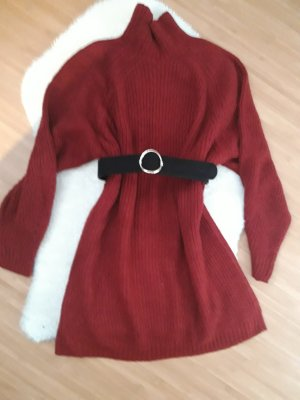 Sweater Dress carmine