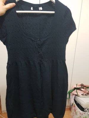 Sweaterjurk donkerblauw