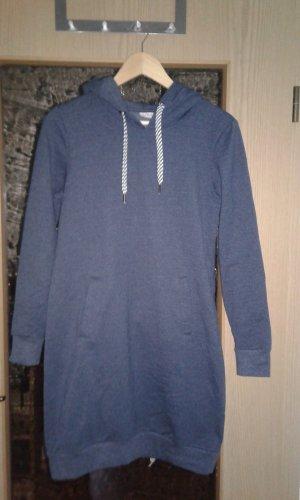 Blue Motion Vestido con capucha blanco-azul oscuro