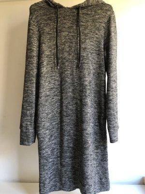 Betty & Co Swetrowa sukienka jasnoszary-ciemnoszary