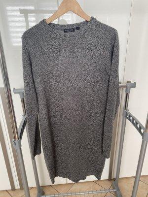 Pulloverkleid in grau