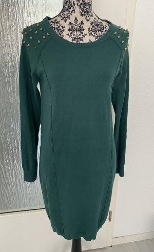 Pulloverkleid in grün