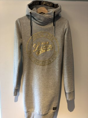 Superdry Hooded Dress gold-colored-light grey