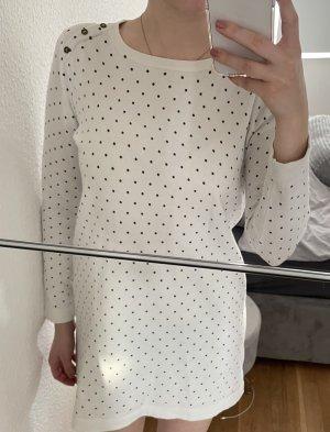 Pulloverkleid mit Punkten