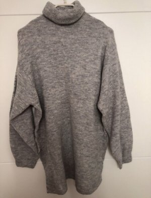 H&M Robe pull gris-gris clair