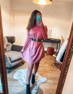 Boutique Comtesse Długi sweter różowy
