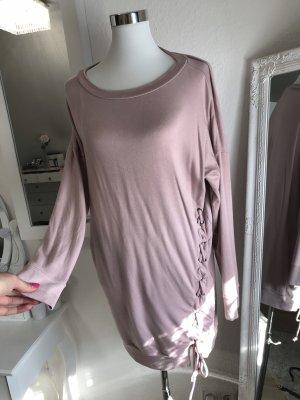 Pulloverkleid mit Schnürung