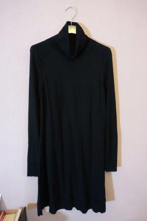 Pulloverkleid, Strickkleid, Kleid mit Rollkragen, COS, schwarz