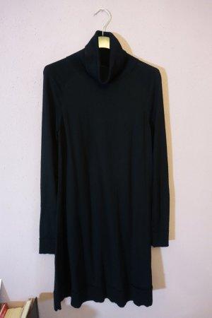 COS Vestito di lana nero Lana