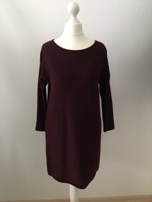 Asos Petite Sweater Dress bordeaux