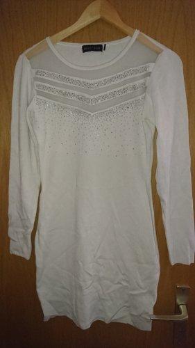Melrose Sweater Dress white