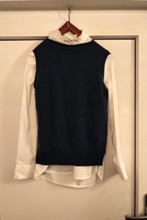 Alpha Fine Knitted Cardigan blue-cornflower blue