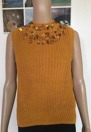 H&M Cardigan en maille fine orange clair