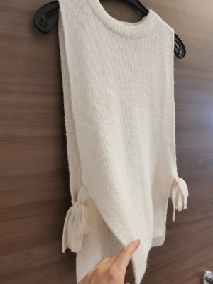Mango Fine Knitted Cardigan natural white