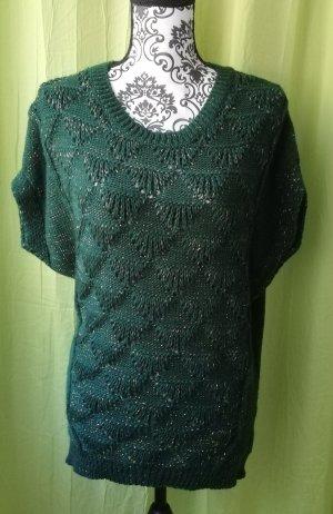 Lange cardigan bos Groen