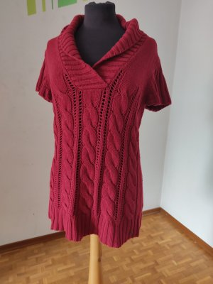 s.Oliver Long Cardigan dark red