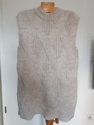 Drykorn for beautiful people Lange cardigan licht beige Wol