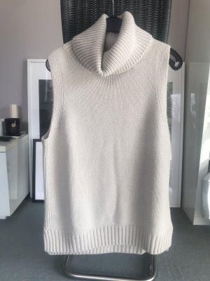 H&M Premium Sweter bez rękawów z cienkiej dzianiny