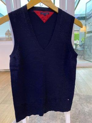 Tommy Hilfiger Cardigan en maille fine bleu foncé