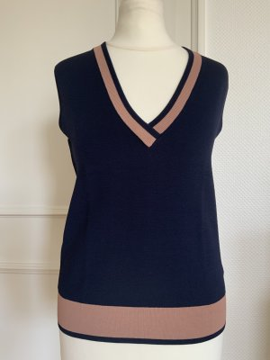 Drykorn for beautiful people Fine Knitted Cardigan dark blue-nude