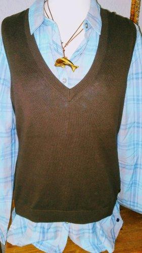 Esprit Fine Knitted Cardigan brown-dark brown