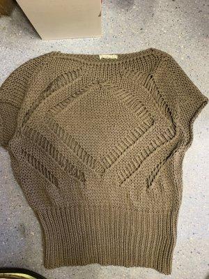 Makena Lei Cardigan long beige-gris brun