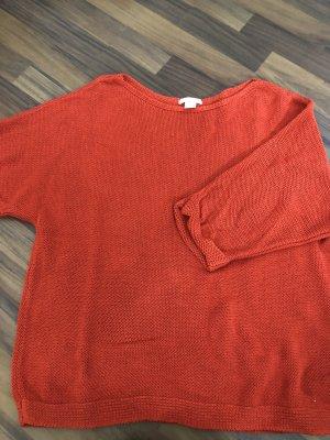 H&M Lange jumper rood